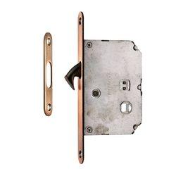 Защелка с фиксатором для раздвижных дверей (50мм)