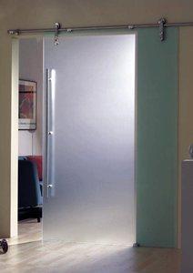 Раздвижная система стеклянных дверей открытого типа