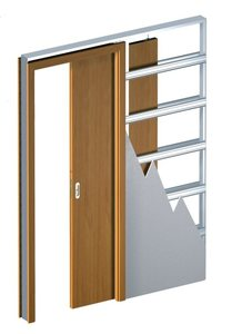 Раздвижная система Пенал для одной двери