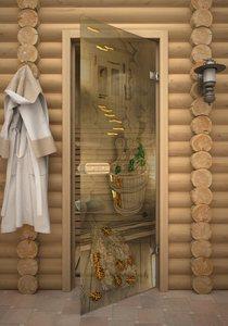 Парилка дверь для сауны стеклянная