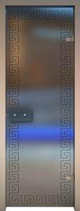 Хамам, стеклянная дверь