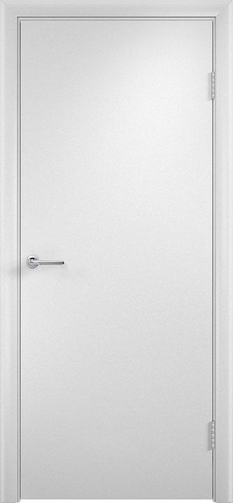 Дверь межкомнатная в комплекте в покрытии ПВХ глухая гладкая