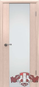 дверь 8ДО5 Рондо триплекс шпонированная беленый дуб остекленная
