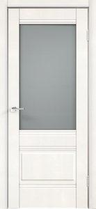 Дверь ALTO 2V эмалит белый остекленная