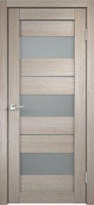 Дверь Duplex 12 капучино остекленная