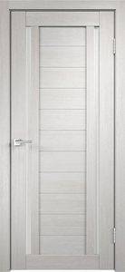 Дверь Duplex 2 дуб белый остекленная