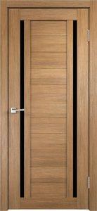 Дверь Duplex 2 дуб золотой остекленная