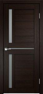 Дверь Duplex 3 венге остекленная