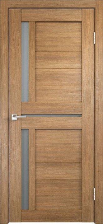 дверь Duplex 3 дуб золотой остекленная