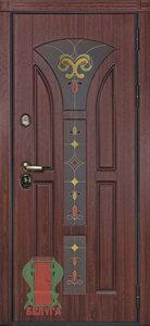 Дверь Лотос металлическая